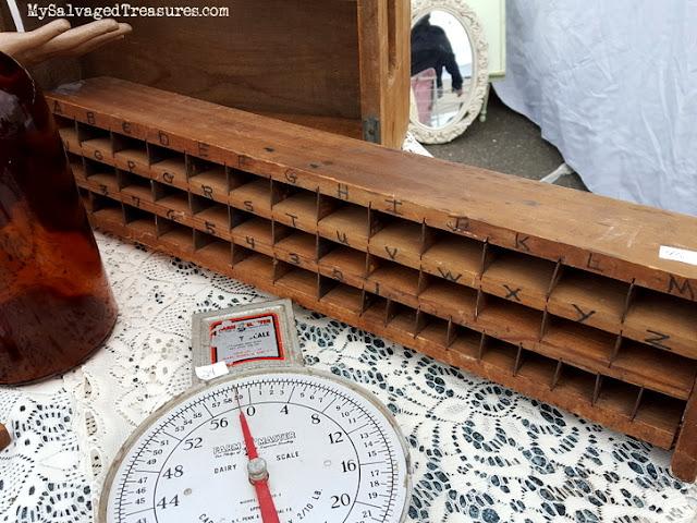 wooden handmade cubby