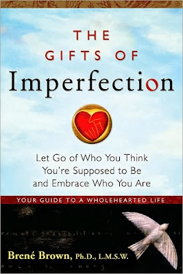 The Gifts of Imperfection by Brene Brown - book cover