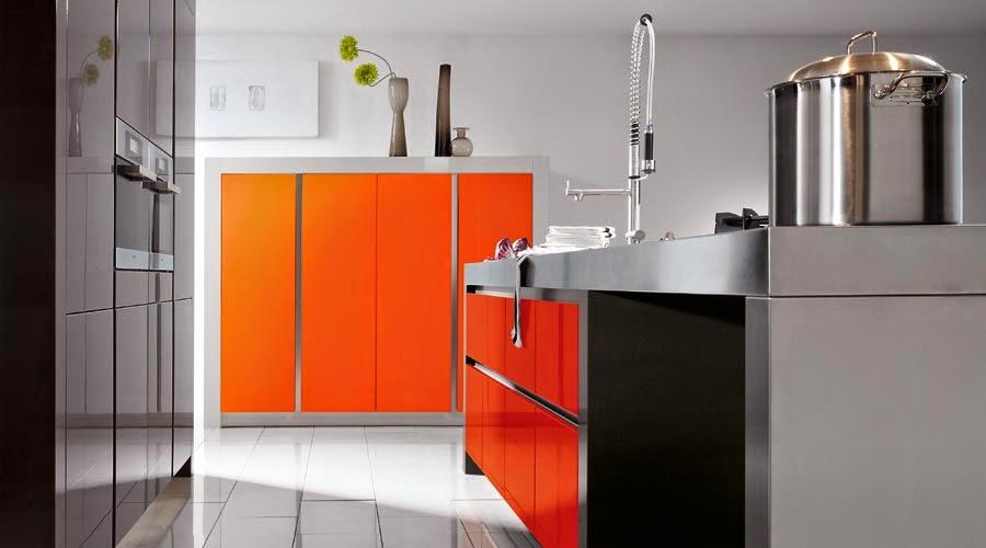 Amazing Orange Kitchens