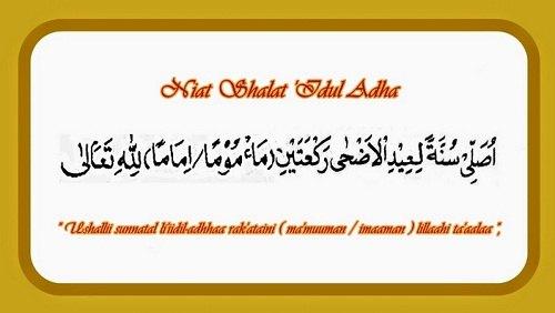 Bacaan Niat Sholat Ied Idul Adha dan Tata Cara ...