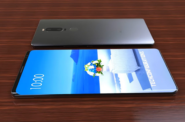 Huawei Mate10 and Huawei Mate10 pro  comparision design