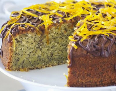 Recipe Orange Cake with Poppy Seeds