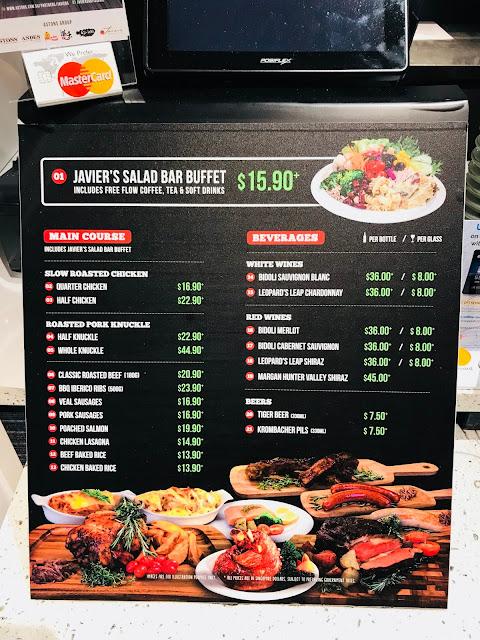 Revising Javier's Rotisserie & Salad