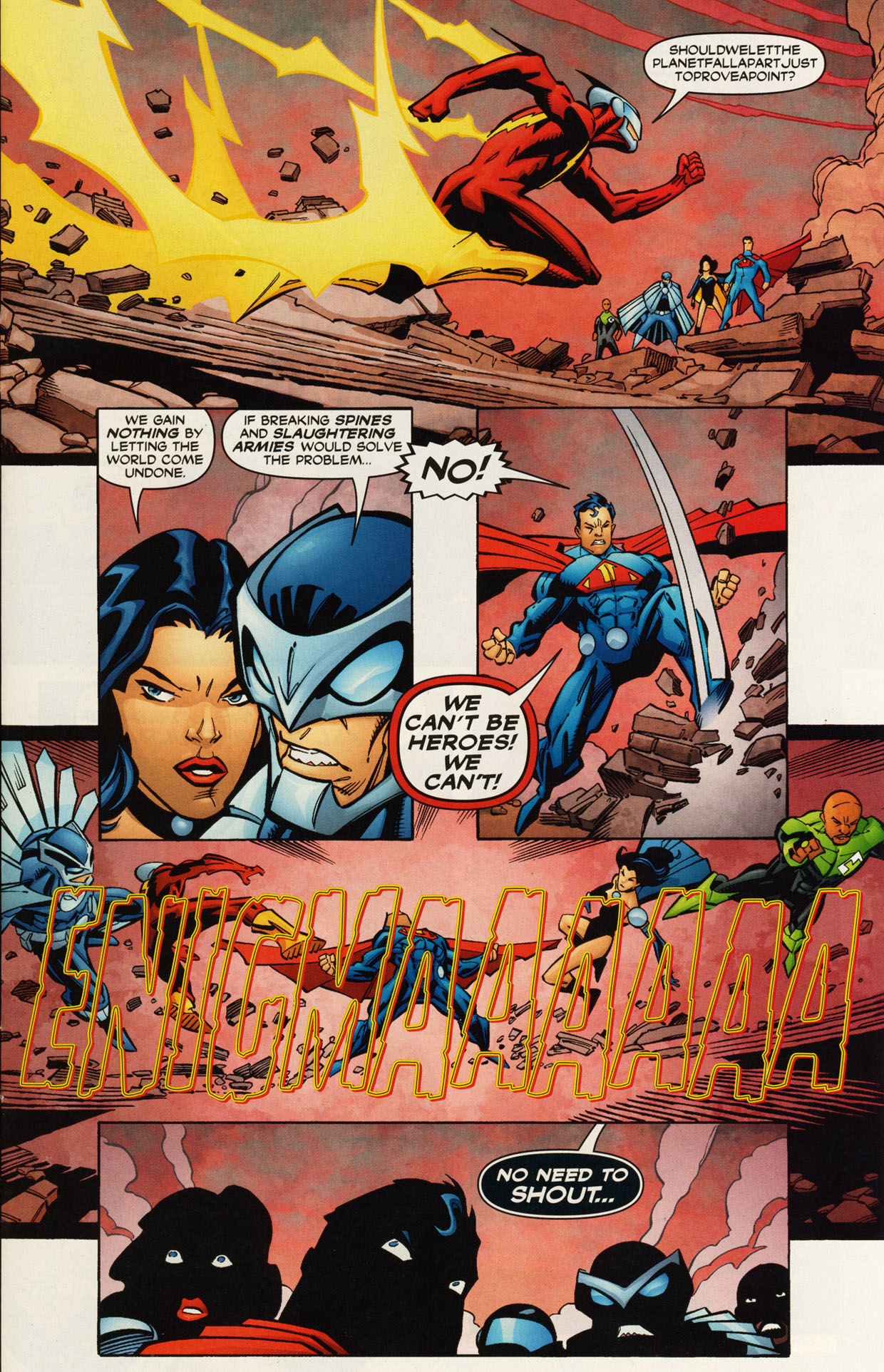 Read online Trinity (2008) comic -  Issue #46 - 26