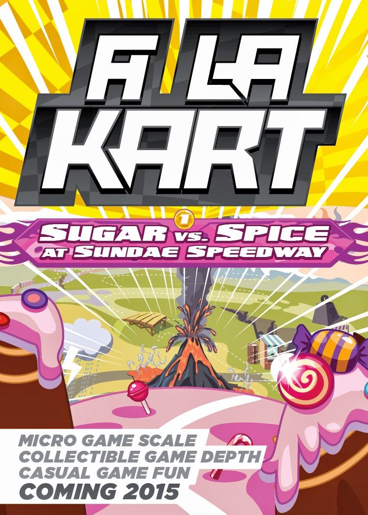la kart Daniel Solis: A La Kart   Concept Art la kart