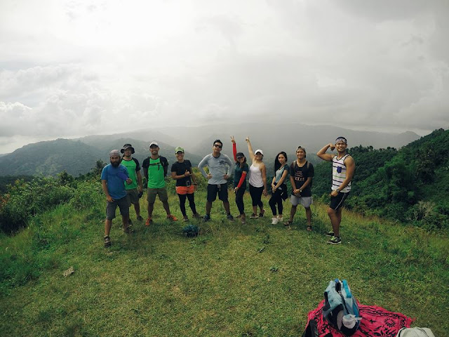Group pic at the top of Bocaue Peak! Pic by Hanventures.net