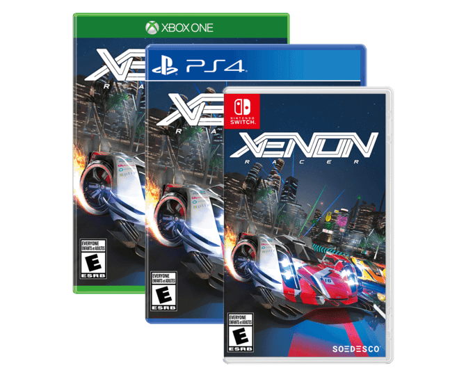 Xenon Racer Will Release In Early 2019