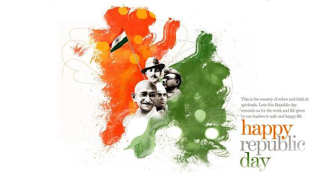 Happy Republic Day Wallpapers for Desktop