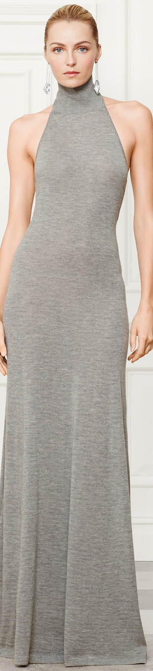 Ralph Lauren Halter Dress Fall 2014 Collection