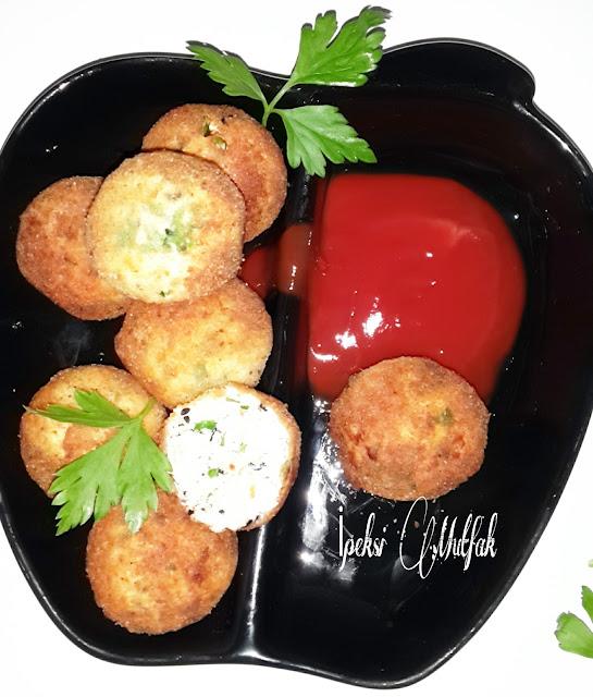 Kahvaltılık peynir topları