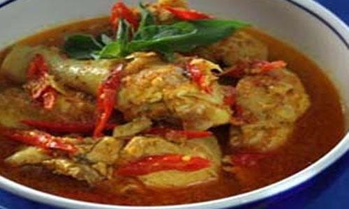 Resep Opor Ayam Pedas Sederhana