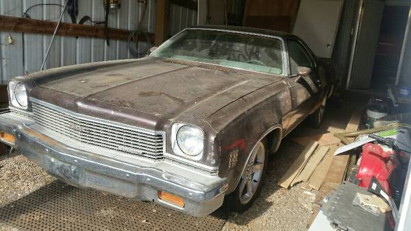 Barn Find Thursday - 1973 GMC Sprint SP454 El Camino Style