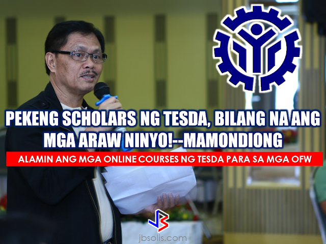 "The Director General of Technical Education and Skills Development Authority (TESDA) warned that he will put an end to the agency's fake scholars. According to him, this practice was rampant during the past administration and he is now making a serious campaign against it.  Mamondiong also warned Technical Vocational Institutions (TVIs) across the country that they would be held responsible if proven involved in facilitating fake scholarships. A ""technical audit teams"" has been created to check the equipment and facilities of TVIs .On the other hand""Barangay Kasanayan para sa Kabuhayan at Kapayapaan (BKKK)"" scouts every barangay for scholars.  According to Mamondiong, his administration would not tolerate such illegal practice as it would be a cause of corruption. Due to fake scholars, a big chunk of TESDA funds go to waste.  Commission on Audit (COA) reports showed that in the previous administration, fake scholars are widespread. There were no training sessions held among TVIs.  Mamondiong also said that what surprising was that some TVIs could get a voucher or scholarship slot inside the TESDA even without the proper training being held.  These cohorts who serve as ""operators"" also get a chunk of money through the fraudulent transactions with TVIs and training institutions.  Mamondiong ordered the provincial and regional  TESDA offices off to facilitate the arrest of the suspects linked to the fake scholars.  Meanwhile, OFWs can also study their desired skills through the online courses offered by TESDA. Being abroad should not hinder you to learn new skills. OFWs can also learn at their own pace. TESDA has scheduled to conduct an assessment in different countries abroad. TESDA also said that the online courses are also open for non-OFWS. To get your certificate, you may need to go to the accredited assessment centers after the online course. For details, just log on to www.e-tesda.gov.ph  Source: TESDA Recommended: Do You Need Money For Tuition Fee For The Next School Year? You Need To Watch This Do you need money for your tuition fee to be able to study this coming school year? The Philippine government might be able to help you. All you need to do is to follow these steps:  -Inquire at the state college or university where you want to study.  -Bring Identification forms. If your family is a 4Ps subsidiary, prepare and bring your 4Ps identification card. For families who are not a member of 4Ps, bring your family's proof of income.  -Bring the registration form from your state college or university where you want to study.   Nicholas Tenazas, Deputy executive Director of CHED-UniFAST said that in the program, the state colleges and universities will not collect any tuition fee from the students. The Government will shoulder their tuition fees.  CHED-UniFAST or the Unified Student Financial Assistance For Tertiary Education otherwise known as the Republic Act 10687  which aims to provide quality education to the Filipinos.  What are the qualifications for availing of the modalities of UniFAST?  The applicant for any of the modalities under the UniFAST must meet the following minimum qualifications:  (a) must be a Filipino citizen, but the Board may grant exemptions to foreign students based on reciprocal programs that provide similar benefits to Filipino students, such as student exchange programs, international reciprocal Scholarships, and other mutually beneficial programs;   (b) must be a high school graduate or its equivalent from duly authorized institutions;   (c) must possess good moral character with no criminal record, but this requirement shall be waived for programs which target children in conflict with the law and those who are undergoing or have undergone rehabilitation;   (d) must be admitted to the higher education institution (HEI) or TVI included in the Registry of Programs and Institutions of the applicant's choice, provided that the applicant shall be allowed to begin processing the application within a reasonable time frame set by the Board to give the applicant sufficient time to enroll;   (e) in the case of technical-vocational education and training or TVET programs, must have passed the TESDA screening/assessment procedure, trade test, or skills competency evaluation; and   (f) in the case of scholarship, the applicant must obtain at least the score required by the Board for the Qualifying Examination System for Scoring Students and must possess such other qualifications as may be prescribed by the Board.  The applicant has to declare also if he or she is already a beneficiary of any other student financial assistance, including government StuFAP. However, if at the time of application of the scholarship, grant-in-aid, student loan, or other modalities of StuFAP under this Act, the amount of such other existing grant does not cover the full cost of tertiary education at the HEI or TVI where the applicant has enrolled in, the applicant may still avail of the StuFAPs under this Act for the remaining portion. Recommended:  Starting this August, the Land Transportation Office (LTO) will possibly release the driver's license with validity of 5 years as President Duterte earlier promised.  LTO Chief Ed Galvante said, LTO started the renewal of driver's license with a validity of 5 years since last year but due to the delay of the supply of the plastic cards, they are only able to issue receipts. The LTO is optimistic that the plastic cards will be available on the said month.  Meanwhile, the LTO Chief has uttered support to the program of the Land Transportation Franchising and Regulatory Board (LTFRB) which is the establishment of the Driver's Academy which will begin this month  Public Utility Drivers will be required to attend the one to two days classes. At the academy, they will learn the traffic rules and regulations, LTFRB policies, and they will also be taught on how to avoid road rage. Grab and Uber drivers will also be required to undergo the same training.  LTFRB board member Aileen Lizada said that they will conduct an exam after the training and if the drivers passed, they will be given an ID Card.  The list of the passers will be then listed to their database. The operators will be able to check the status of the drivers they are hiring. Recommended:    Transfer to other employer   An employer can grant a written permission to his employees to work with another employer for a period of six months, renewable for a similar period.  Part time jobs are now allowed   Employees can take up part time job with another employer, with a written approval from his original employer, the Ministry of Interior said yesterday.   Staying out of Country, still can come back?  Expatriates staying out of the country for more than six months can re-enter the country with a ""return visa"", within a year, if they hold a Qatari residency permit (RP) and after paying the fine.    Newborn RP possible A newborn baby can get residency permit within 90 days from the date of birth or the date of entering the country, if the parents hold a valid Qatari RP.  No medical check up Anyone who enters the country on a visit visa or for other purposes are not required to undergo the mandatory medical check-up if they stay for a period not more than 30 days. Foreigners are not allowed to stay in the country after expiry of their visa if not renewed.   E gates for all  Expatriates living in Qatar can leave and enter the country using their Qatari IDs through the e-gates.  Exit Permit Grievances Committee According to Law No 21 of 2015 regulating entry, exit and residency of expatriates, which was enforced on December 13, last year, expatriate worker can leave the country immediately after his employer inform the competent authorities about his consent for exit. In case the employer objected, the employee can lodge a complaint with the Exit Permit Grievances Committee which will take a decision within three working days.  Change job before or after contract , complete freedom  Expatriate worker can change his job before the end of his work contract with or without the consent of his employer, if the contract period ended or after five years if the contract is open ended. With approval from the competent authority, the worker also can change his job if the employer died or the company vanished for any reason.   Three months for RP process  The employer must process the RP of his employees within 90 days from the date of his entry to the country.  Expat must leave within 90 days of visa expiry The employer must return the travel document (passport) to the employee after finishing the RP formalities unless the employee makes a written request to keep it with the employer. The employer must report to the authorities concerned within 24 hours if the worker left his job, refused to leave the country after cancellation of his RP, passed three months since its expiry or his visit visa ended.  If the visa or residency permit becomes invalid the expat needs to leave the country within 90 days from the date of its expiry. The expat must not violate terms and the purpose for which he/she has been granted the residency permit and should not work with another employer without permission of his original employer. In case of a dispute the Interior Minister or his representative has the right to allow an expatriate worker to work with another employer temporarily with approval from the Ministry of Administrative Development,Labour and Social Affairs. Source:qatarday.com Recommended:      The Barangay Micro Business Enterprise Program (BMBE) or Republic Act No. 9178 of the Department of Trade and Industry (DTI) started way back 2002 which aims to help people to start their small business by providing them incentives and other benefits.  If you have a small business that belongs to manufacturing, production, processing, trading and services with assets not exceeding P3 million you can benefit from BMBE Program of the government.  Benefits include:  Income tax exemption from income arising from the operations of the enterprise;   Exemption from the coverage of the Minimum Wage Law (BMBE 1) 2) 3) 2 employees will still receive the same social security and health care benefits as other employees);   Priority to a special credit window set up specifically for the financing requirements of BMBEs; and  Technology transfer, production and management training, and marketing assistance programs for BMBE beneficiaries.  Gina Lopez Confirmation as DENR Secretary Rejected; Who Voted For Her and Who Voted Against?   ©2017 THOUGHTSKOTO www.jbsolis.com SEARCH JBSOLIS   The Barangay Micro Business Enterprise Program (BMBE) or Republic Act No. 9178 of the Department of Trade and Industry (DTI) started way back 2002 which aims to help people to start their small business by providing them incentives and other benefits.  If you have a small business that belongs to manufacturing, production, processing, trading and services with assets not exceeding P3 million you can benefit from BMBE Program of the government.   Benefits include: Income tax exemption from income arising from the operations of the enterprise;   Exemption from the coverage of the Minimum Wage Law (BMBE 1) 2) 3) 2 employees will still receive the same social security and health care benefits as other employees);   Priority to a special credit window set up specifically for the financing requirements of BMBEs; and  Technology transfer, production and management training, and marketing assistance programs for BMBE beneficiaries.  Gina Lopez Confirmation as DENR Secretary Rejected; Who Voted For Her and Who Voted Against? Transfer to other employer   An employer can grant a written permission to his employees to work with another employer for a period of six months, renewable for a similar period.  Part time jobs are now allowed   Employees can take up part time job with another employer, with a written approval from his original employer, the Ministry of Interior said yesterday.   Staying out of Country, still can come back?  Expatriates staying out of the country for more than six months can re-enter the country with a ""return visa"", within a year, if they hold a Qatari residency permit (RP) and after paying the fine.    Newborn RP possible A newborn baby can get residency permit within 90 days from the date of birth or the date of entering the country, if the parents hold a valid Qatari RP.  No medical check up Anyone who enters the country on a visit visa or for other purposes are not required to undergo the mandatory medical check-up if they stay for a period not more than 30 days. Foreigners are not allowed to stay in the country after expiry of their visa if not renewed.   E gates for all  Expatriates living in Qatar can leave and enter the country using their Qatari IDs through the e-gates.  Exit Permit Grievances Committee According to Law No 21 of 2015 regulating entry, exit and residency of expatriates, which was enforced on December 13, last year, expatriate worker can leave the country immediately after his employer inform the competent authorities about his consent for exit. In case the employer objected, the employee can lodge a complaint with the Exit Permit Grievances Committee which will take a decision within three working days.  Change job before or after contract , complete freedom  Expatriate worker can change his job before the end of his work contract with or without the consent of his employer, if the contract period ended or after five years if the contract is open ended. With approval from the competent authority, the worker also can change his job if the employer died or the company vanished for any reason.   Three months for RP process  The employer must process the RP of his employees within 90 days from the date of his entry to the country.  Expat must leave within 90 days of visa expiry The employer must return the travel document (passport) to the employee after finishing the RP formalities unless the employee makes a written request to keep it with the employer. The employer must report to the authorities concerned within 24 hours if the worker left his job, refused to leave the country after cancellation of his RP, passed three months since its expiry or his visit visa ended.  If the visa or residency permit becomes invalid the expat needs to leave the country within 90 days from the date of its expiry. The expat must not violate terms and the purpose for which he/she has been granted the residency permit and should not work with another employer without permission of his original employer. In case of a dispute the Interior Minister or his representative has the right to allow an expatriate worker to work with another employer temporarily with approval from the Ministry of Administrative Development,Labour and Social Affairs. Source:qatarday.com Recommended:      The Barangay Micro Business Enterprise Program (BMBE) or Republic Act No. 9178 of the Department of Trade and Industry (DTI) started way back 2002 which aims to help people to start their small business by providing them incentives and other benefits.  If you have a small business that belongs to manufacturing, production, processing, trading and services with assets not exceeding P3 million you can benefit from BMBE Program of the government.  Benefits include:  Income tax exemption from income arising from the operations of the enterprise;   Exemption from the coverage of the Minimum Wage Law (BMBE 1) 2) 3) 2 employees will still receive the same social security and health care benefits as other employees);   Priority to a special credit window set up specifically for the financing requirements of BMBEs; and  Technology transfer, production and management training, and marketing assistance programs for BMBE beneficiaries.  Gina Lopez Confirmation as DENR Secretary Rejected; Who Voted For Her and Who Voted Against?   ©2017 THOUGHTSKOTO www.jbsolis.com SEARCH JBSOLIS  ©2017 THOUGHTSKOTO www.jbsolis.com SEARCH JBSOLIS Starting this August, the Land Transportation Office (LTO) will possibly release the driver's license with validity of 5 years as President Duterte earlier promised.  LTO Chief Ed Galvante said, LTO started the renewal of driver's license with a validity of 5 years since last year but due to the delay of the supply of the plastic cards, they are only able to issue receipts. The LTO is optimistic that the plastic cards will be available on the said month.     Transfer to other employer   An employer can grant a written permission to his employees to work with another employer for a period of six months, renewable for a similar period.  Part time jobs are now allowed   Employees can take up part time job with another employer, with a written approval from his original employer, the Ministry of Interior said yesterday.   Staying out of Country, still can come back?  Expatriates staying out of the country for more than six months can re-enter the country with a ""return visa"", within a year, if they hold a Qatari residency permit (RP) and after paying the fine.    Newborn RP possible A newborn baby can get residency permit within 90 days from the date of birth or the date of entering the country, if the parents hold a valid Qatari RP.  No medical check up Anyone who enters the country on a visit visa or for other purposes are not required to undergo the mandatory medical check-up if they stay for a period not more than 30 days. Foreigners are not allowed to stay in the country after expiry of their visa if not renewed.   E gates for all  Expatriates living in Qatar can leave and enter the country using their Qatari IDs through the e-gates.  Exit Permit Grievances Committee According to Law No 21 of 2015 regulating entry, exit and residency of expatriates, which was enforced on December 13, last year, expatriate worker can leave the country immediately after his employer inform the competent authorities about his consent for exit. In case the employer objected, the employee can lodge a complaint with the Exit Permit Grievances Committee which will take a decision within three working days.  Change job before or after contract , complete freedom  Expatriate worker can change his job before the end of his work contract with or without the consent of his employer, if the contract period ended or after five years if the contract is open ended. With approval from the competent authority, the worker also can change his job if the employer died or the company vanished for any reason.   Three months for RP process  The employer must process the RP of his employees within 90 days from the date of his entry to the country.  Expat must leave within 90 days of visa expiry The employer must return the travel document (passport) to the employee after finishing the RP formalities unless the employee makes a written request to keep it with the employer. The employer must report to the authorities concerned within 24 hours if the worker left his job, refused to leave the country after cancellation of his RP, passed three months since its expiry or his visit visa ended.  If the visa or residency permit becomes invalid the expat needs to leave the country within 90 days from the date of its expiry. The expat must not violate terms and the purpose for which he/she has been granted the residency permit and should not work with another employer without permission of his original employer. In case of a dispute the Interior Minister or his representative has the right to allow an expatriate worker to work with another employer temporarily with approval from the Ministry of Administrative Development,Labour and Social Affairs. Source:qatarday.com Recommended:      The Barangay Micro Business Enterprise Program (BMBE) or Republic Act No. 9178 of the Department of Trade and Industry (DTI) started way back 2002 which aims to help people to start their small business by providing them incentives and other benefits.  If you have a small business that belongs to manufacturing, production, processing, trading and services with assets not exceeding P3 million you can benefit from BMBE Program of the government.  Benefits include:  Income tax exemption from income arising from the operations of the enterprise;   Exemption from the coverage of the Minimum Wage Law (BMBE 1) 2) 3) 2 employees will still receive the same social security and health care benefits as other employees);   Priority to a special credit window set up specifically for the financing requirements of BMBEs; and  Technology transfer, production and management training, and marketing assistance programs for BMBE beneficiaries.  Gina Lopez Confirmation as DENR Secretary Rejected; Who Voted For Her and Who Voted Against?   ©2017 THOUGHTSKOTO www.jbsolis.com SEARCH JBSOLIS    The Barangay Micro Business Enterprise Program (BMBE) or Republic Act No. 9178 of the Department of Trade and Industry (DTI) started way back 2002 which aims to help people to start their small business by providing them incentives and other benefits.  If you have a small business that belongs to manufacturing, production, processing, trading and services with assets not exceeding P3 million you can benefit from BMBE Program of the government.  Benefits include: Income tax exemption from income arising from the operations of the enterprise;   Exemption from the coverage of the Minimum Wage Law (BMBE 1) 2) 3) 2 employees will still receive the same social security and health care benefits as other employees);   Priority to a special credit window set up specifically for the financing requirements of BMBEs; and  Technology transfer, production and management training, and marketing assistance programs for BMBE beneficiaries.  Gina Lopez Confirmation as DENR Secretary Rejected; Who Voted For Her and Who Voted Against? Transfer to other employer   An employer can grant a written permission to his employees to work with another employer for a period of six months, renewable for a similar period.  Part time jobs are now allowed   Employees can take up part time job with another employer, with a written approval from his original employer, the Ministry of Interior said yesterday.   Staying out of Country, still can come back?  Expatriates staying out of the country for more than six months can re-enter the country with a ""return visa"", within a year, if they hold a Qatari residency permit (RP) and after paying the fine.    Newborn RP possible A newborn baby can get residency permit within 90 days from the date of birth or the date of entering the country, if the parents hold a valid Qatari RP.  No medical check up Anyone who enters the country on a visit visa or for other purposes are not required to undergo the mandatory medical check-up if they stay for a period not more than 30 days. Foreigners are not allowed to stay in the country after expiry of their visa if not renewed.   E gates for all  Expatriates living in Qatar can leave and enter the country using their Qatari IDs through the e-gates.  Exit Permit Grievances Committee According to Law No 21 of 2015 regulating entry, exit and residency of expatriates, which was enforced on December 13, last year, expatriate worker can leave the country immediately after his employer inform the competent authorities about his consent for exit. In case the employer objected, the employee can lodge a complaint with the Exit Permit Grievances Committee which will take a decision within three working days.  Change job before or after contract , complete freedom  Expatriate worker can change his job before the end of his work contract with or without the consent of his employer, if the contract period ended or after five years if the contract is open ended. With approval from the competent authority, the worker also can change his job if the employer died or the company vanished for any reason.   Three months for RP process  The employer must process the RP of his employees within 90 days from the date of his entry to the country.  Expat must leave within 90 days of visa expiry The employer must return the travel document (passport) to the employee after finishing the RP formalities unless the employee makes a written request to keep it with the employer. The employer must report to the authorities concerned within 24 hours if the worker left his job, refused to leave the country after cancellation of his RP, passed three months since its expiry or his visit visa ended.  If the visa or residency permit becomes invalid the expat needs to leave the country within 90 days from the date of its expiry. The expat must not violate terms and the purpose for which he/she has been granted the residency permit and should not work with another employer without permission of his original employer. In case of a dispute the Interior Minister or his representative has the right to allow an expatriate worker to work with another employer temporarily with approval from the Ministry of Administrative Development,Labour and Social Affairs. Source:qatarday.com Recommended:      The Barangay Micro Business Enterprise Program (BMBE) or Republic Act No. 9178 of the Department of Trade and Industry (DTI) started way back 2002 which aims to help people to start their small business by providing them incentives and other benefits.  If you have a small business that belongs to manufacturing, production, processing, trading and services with assets not exceeding P3 million you can benefit from BMBE Program of the government.  Benefits include:  Income tax exemption from income arising from the operations of the enterprise;   Exemption from the coverage of the Minimum Wage Law (BMBE 1) 2) 3) 2 employees will still receive the same social security and health care benefits as other employees);   Priority to a special credit window set up specifically for the financing requirements of BMBEs; and  Technology transfer, production and management training, and marketing assistance programs for BMBE beneficiaries.  Gina Lopez Confirmation as DENR Secretary Rejected; Who Voted For Her and Who Voted Against?   ©2017 THOUGHTSKOTO www.jbsolis.com SEARCH JBSOLIS  ©2017 THOUGHTSKOTO www.jbsolis.com SEARCH JBSOLIS  Starting this August, the Land Transportation Office (LTO) will possibly release the driver's license with validity of 5 years as President Duterte earlier promised.  LTO Chief Ed Galvante said, LTO started the renewal of driver's license with a validity of 5 years since last year but due to the delay of the supply of the plastic cards, they are only able to issue receipts. The LTO is optimistic that the plastic cards will be available on the said month.  Meanwhile, the LTO Chief has uttered support to the program of the Land Transportation Franchising and Regulatory Board (LTFRB) which is the establishment of the Driver's Academy which will begin this month  Public Utility Drivers will be required to attend the one to two days classes. At the academy, they will learn the traffic rules and regulations, LTFRB policies, and they will also be taught on how to avoid road rage. Grab and Uber drivers will also be required to undergo the same training.  LTFRB board member Aileen Lizada said that they will conduct an exam after the training and if the drivers passed, they will be given an ID Card.  The list of the passers will be then listed to their database. The operators will be able to check the status of the drivers they are hiring. Recommended:    Transfer to other employer   An employer can grant a written permission to his employees to work with another employer for a period of six months, renewable for a similar period.  Part time jobs are now allowed   Employees can take up part time job with another employer, with a written approval from his original employer, the Ministry of Interior said yesterday.   Staying out of Country, still can come back?  Expatriates staying out of the country for more than six months can re-enter the country with a ""return visa"", within a year, if they hold a Qatari residency permit (RP) and after paying the fine.    Newborn RP possible A newborn baby can get residency permit within 90 days from the date of birth or the date of entering the country, if the parents hold a valid Qatari RP.  No medical check up Anyone who enters the country on a visit visa or for other purposes are not required to undergo the mandatory medical check-up if they stay for a period not more than 30 days. Foreigners are not allowed to stay in the country after expiry of their visa if not renewed.   E gates for all  Expatriates living in Qatar can leave and enter the country using their Qatari IDs through the e-gates.  Exit Permit Grievances Committee According to Law No 21 of 2015 regulating entry, exit and residency of expatriates, which was enforced on December 13, last year, expatriate worker can leave the country immediately after his employer inform the competent authorities about his consent for exit. In case the employer objected, the employee can lodge a complaint with the Exit Permit Grievances Committee which will take a decision within three working days.  Change job before or after contract , complete freedom  Expatriate worker can change his job before the end of his work contract with or without the consent of his employer, if the contract period ended or after five years if the contract is open ended. With approval from the competent authority, the worker also can change his job if the employer died or the company vanished for any reason.   Three months for RP process  The employer must process the RP of his employees within 90 days from the date of his entry to the country.  Expat must leave within 90 days of visa expiry The employer must return the travel document (passport) to the employee after finishing the RP formalities unless the employee makes a written request to keep it with the employer. The employer must report to the authorities concerned within 24 hours if the worker left his job, refused to leave the country after cancellation of his RP, passed three months since its expiry or his visit visa ended.  If the visa or residency permit becomes invalid the expat needs to leave the country within 90 days from the date of its expiry. The expat must not violate terms and the purpose for which he/she has been granted the residency permit and should not work with another employer without permission of his original employer. In case of a dispute the Interior Minister or his representative has the right to allow an expatriate worker to work with another employer temporarily with approval from the Ministry of Administrative Development,Labour and Social Affairs. Source:qatarday.com Recommended:      The Barangay Micro Business Enterprise Program (BMBE) or Republic Act No. 9178 of the Department of Trade and Industry (DTI) started way back 2002 which aims to help people to start their small business by providing them incentives and other benefits.  If you have a small business that belongs to manufacturing, production, processing, trading and services with assets not exceeding P3 million you can benefit from BMBE Program of the government.  Benefits include:  Income tax exemption from income arising from the operations of the enterprise;   Exemption from the coverage of the Minimum Wage Law (BMBE 1) 2) 3) 2 employees will still receive the same social security and health care benefits as other employees);   Priority to a special credit window set up specifically for the financing requirements of BMBEs; and  Technology transfer, production and management training, and marketing assistance programs for BMBE beneficiaries.  Gina Lopez Confirmation as DENR Secretary Rejected; Who Voted For Her and Who Voted Against?   ©2017 THOUGHTSKOTO www.jbsolis.com SEARCH JBSOLIS   The Barangay Micro Business Enterprise Program (BMBE) or Republic Act No. 9178 of the Department of Trade and Industry (DTI) started way back 2002 which aims to help people to start their small business by providing them incentives and other benefits.  If you have a small business that belongs to manufacturing, production, processing, trading and services with assets not exceeding P3 million you can benefit from BMBE Program of the government.   Benefits include: Income tax exemption from income arising from the operations of the enterprise;   Exemption from the coverage of the Minimum Wage Law (BMBE 1) 2) 3) 2 employees will still receive the same social security and health care benefits as other employees);   Priority to a special credit window set up specifically for the financing requirements of BMBEs; and  Technology transfer, production and management training, and marketing assistance programs for BMBE beneficiaries.  Gina Lopez Confirmation as DENR Secretary Rejected; Who Voted For Her and Who Voted Against? Transfer to other employer   An employer can grant a written permission to his employees to work with another employer for a period of six months, renewable for a similar period.  Part time jobs are now allowed   Employees can take up part time job with another employer, with a written approval from his original employer, the Ministry of Interior said yesterday.   Staying out of Country, still can come back?  Expatriates staying out of the country for more than six months can re-enter the country with a ""return visa"", within a year, if they hold a Qatari residency permit (RP) and after paying the fine.    Newborn RP possible A newborn baby can get residency permit within 90 days from the date of birth or the date of entering the country, if the parents hold a valid Qatari RP.  No medical check up Anyone who enters the country on a visit visa or for other purposes are not required to undergo the mandatory medical check-up if they stay for a period not more than 30 days. Foreigners are not allowed to stay in the country after expiry of their visa if not renewed.   E gates for all  Expatriates living in Qatar can leave and enter the country using their Qatari IDs through the e-gates.  Exit Permit Grievances Committee According to Law No 21 of 2015 regulating entry, exit and residency of expatriates, which was enforced on December 13, last year, expatriate worker can leave the country immediately after his employer inform the competent authorities about his consent for exit. In case the employer objected, the employee can lodge a complaint with the Exit Permit Grievances Committee which will take a decision within three working days.  Change job before or after contract , complete freedom  Expatriate worker can change his job before the end of his work contract with or without the consent of his employer, if the contract period ended or after five years if the contract is open ended. With approval from the competent authority, the worker also can change his job if the employer died or the company vanished for any reason.   Three months for RP process  The employer must process the RP of his employees within 90 days from the date of his entry to the country.  Expat must leave within 90 days of visa expiry The employer must return the travel document (passport) to the employee after finishing the RP formalities unless the employee makes a written request to keep it with the employer. The employer must report to the authorities concerned within 24 hours if the worker left his job, refused to leave the country after cancellation of his RP, passed three months since its expiry or his visit visa ended.  If the visa or residency permit becomes invalid the expat needs to leave the country within 90 days from the date of its expiry. The expat must not violate terms and the purpose for which he/she has been granted the residency permit and should not work with another employer without permission of his original employer. In case of a dispute the Interior Minister or his representative has the right to allow an expatriate worker to work with another employer temporarily with approval from the Ministry of Administrative Development,Labour and Social Affairs. Source:qatarday.com Recommended:      The Barangay Micro Business Enterprise Program (BMBE) or Republic Act No. 9178 of the Department of Trade and Industry (DTI) started way back 2002 which aims to help people to start their small business by providing them incentives and other benefits.  If you have a small business that belongs to manufacturing, production, processing, trading and services with assets not exceeding P3 million you can benefit from BMBE Program of the government.  Benefits include:  Income tax exemption from income arising from the operations of the enterprise;   Exemption from the coverage of the Minimum Wage Law (BMBE 1) 2) 3) 2 employees will still receive the same social security and health care benefits as other employees);   Priority to a special credit window set up specifically for the financing requirements of BMBEs; and  Technology transfer, production and management training, and marketing assistance programs for BMBE beneficiaries.  Gina Lopez Confirmation as DENR Secretary Rejected; Who Voted For Her and Who Voted Against?   ©2017 THOUGHTSKOTO www.jbsolis.com SEARCH JBSOLIS  ©2017 THOUGHTSKOTO www.jbsolis.com SEARCH JBSOLIS Starting this August, the Land Transportation Office (LTO) will possibly release the driver's license with validity of 5 years as President Duterte earlier promised.  LTO Chief Ed Galvante said, LTO started the renewal of driver's license with a validity of 5 years since last year but due to the delay of the supply of the plastic cards, they are only able to issue receipts. The LTO is optimistic that the plastic cards will be available on the said month.     Transfer to other employer   An employer can grant a written permission to his employees to work with another employer for a period of six months, renewable for a similar period.  Part time jobs are now allowed   Employees can take up part time job with another employer, with a written approval from his original employer, the Ministry of Interior said yesterday.   Staying out of Country, still can come back?  Expatriates staying out of the country for more than six months can re-enter the country with a ""return visa"", within a year, if they hold a Qatari residency permit (RP) and after paying the fine.    Newborn RP possible A newborn baby can get residency permit within 90 days from the date of birth or the date of entering the country, if the parents hold a valid Qatari RP.  No medical check up Anyone who enters the country on a visit visa or for other purposes are not required to undergo the mandatory medical check-up if they stay for a period not more than 30 days. Foreigners are not allowed to stay in the country after expiry of their visa if not renewed.   E gates for all  Expatriates living in Qatar can leave and enter the country using their Qatari IDs through the e-gates.  Exit Permit Grievances Committee According to Law No 21 of 2015 regulating entry, exit and residency of expatriates, which was enforced on December 13, last year, expatriate worker can leave the country immediately after his employer inform the competent authorities about his consent for exit. In case the employer objected, the employee can lodge a complaint with the Exit Permit Grievances Committee which will take a decision within three working days.  Change job before or after contract , complete freedom  Expatriate worker can change his job before the end of his work contract with or without the consent of his employer, if the contract period ended or after five years if the contract is open ended. With approval from the competent authority, the worker also can change his job if the employer died or the company vanished for any reason.   Three months for RP process  The employer must process the RP of his employees within 90 days from the date of his entry to the country.  Expat must leave within 90 days of visa expiry The employer must return the travel document (passport) to the employee after finishing the RP formalities unless the employee makes a written request to keep it with the employer. The employer must report to the authorities concerned within 24 hours if the worker left his job, refused to leave the country after cancellation of his RP, passed three months since its expiry or his visit visa ended.  If the visa or residency permit becomes invalid the expat needs to leave the country within 90 days from the date of its expiry. The expat must not violate terms and the purpose for which he/she has been granted the residency permit and should not work with another employer without permission of his original employer. In case of a dispute the Interior Minister or his representative has the right to allow an expatriate worker to work with another employer temporarily with approval from the Ministry of Administrative Development,Labour and Social Affairs. Source:qatarday.com Recommended:      The Barangay Micro Business Enterprise Program (BMBE) or Republic Act No. 9178 of the Department of Trade and Industry (DTI) started way back 2002 which aims to help people to start their small business by providing them incentives and other benefits.  If you have a small business that belongs to manufacturing, production, processing, trading and services with assets not exceeding P3 million you can benefit from BMBE Program of the government.  Benefits include:  Income tax exemption from income arising from the operations of the enterprise;   Exemption from the coverage of the Minimum Wage Law (BMBE 1) 2) 3) 2 employees will still receive the same social security and health care benefits as other employees);   Priority to a special credit window set up specifically for the financing requirements of BMBEs; and  Technology transfer, production and management training, and marketing assistance programs for BMBE beneficiaries.  Gina Lopez Confirmation as DENR Secretary Rejected; Who Voted For Her and Who Voted Against?   ©2017 THOUGHTSKOTO www.jbsolis.com SEARCH JBSOLIS  The Barangay Micro Business Enterprise Program (BMBE) or Republic Act No. 9178 of the Department of Trade and Industry (DTI) started way back 2002 which aims to help people to start their small business by providing them incentives and other benefits.  If you have a small business that belongs to manufacturing, production, processing, trading and services with assets not exceeding P3 million you can benefit from BMBE Program of the government.  Benefits include: Income tax exemption from income arising from the operations of the enterprise;   Exemption from the coverage of the Minimum Wage Law (BMBE 1) 2) 3) 2 employees will still receive the same social security and health care benefits as other employees);   Priority to a special credit window set up specifically for the financing requirements of BMBEs; and  Technology transfer, production and management training, and marketing assistance programs for BMBE beneficiaries.  Gina Lopez Confirmation as DENR Secretary Rejected; Who Voted For Her and Who Voted Against? Transfer to other employer   An employer can grant a written permission to his employees to work with another employer for a period of six months, renewable for a similar period.  Part time jobs are now allowed   Employees can take up part time job with another employer, with a written approval from his original employer, the Ministry of Interior said yesterday.   Staying out of Country, still can come back?  Expatriates staying out of the country for more than six months can re-enter the country with a ""return visa"", within a year, if they hold a Qatari residency permit (RP) and after paying the fine.    Newborn RP possible A newborn baby can get residency permit within 90 days from the date of birth or the date of entering the country, if the parents hold a valid Qatari RP.  No medical check up Anyone who enters the country on a visit visa or for other purposes are not required to undergo the mandatory medical check-up if they stay for a period not more than 30 days. Foreigners are not allowed to stay in the country after expiry of their visa if not renewed.   E gates for all  Expatriates living in Qatar can leave and enter the country using their Qatari IDs through the e-gates.  Exit Permit Grievances Committee According to Law No 21 of 2015 regulating entry, exit and residency of expatriates, which was enforced on December 13, last year, expatriate worker can leave the country immediately after his employer inform the competent authorities about his consent for exit. In case the employer objected, the employee can lodge a complaint with the Exit Permit Grievances Committee which will take a decision within three working days.  Change job before or after contract , complete freedom  Expatriate worker can change his job before the end of his work contract with or without the consent of his employer, if the contract period ended or after five years if the contract is open ended. With approval from the competent authority, the worker also can change his job if the employer died or the company vanished for any reason.   Three months for RP process  The employer must process the RP of his employees within 90 days from the date of his entry to the country.  Expat must leave within 90 days of visa expiry The employer must return the travel document (passport) to the employee after finishing the RP formalities unless the employee makes a written request to keep it with the employer. The employer must report to the authorities concerned within 24 hours if the worker left his job, refused to leave the country after cancellation of his RP, passed three months since its expiry or his visit visa ended.  If the visa or residency permit becomes invalid the expat needs to leave the country within 90 days from the date of its expiry. The expat must not violate terms and the purpose for which he/she has been granted the residency permit and should not work with another employer without permission of his original employer. In case of a dispute the Interior Minister or his representative has the right to allow an expatriate worker to work with another employer temporarily with approval from the Ministry of Administrative Development,Labour and Social Affairs. Source:qatarday.com Recommended:      The Barangay Micro Business Enterprise Program (BMBE) or Republic Act No. 9178 of the Department of Trade and Industry (DTI) started way back 2002 which aims to help people to start their small business by providing them incentives and other benefits.  If you have a small business that belongs to manufacturing, production, processing, trading and services with assets not exceeding P3 million you can benefit from BMBE Program of the government.  Benefits include:  Income tax exemption from income arising from the operations of the enterprise;   Exemption from the coverage of the Minimum Wage Law (BMBE 1) 2) 3) 2 employees will still receive the same social security and health care benefits as other employees);   Priority to a special credit window set up specifically for the financing requirements of BMBEs; and  Technology transfer, production and management training, and marketing assistance programs for BMBE beneficiaries.  Gina Lopez Confirmation as DENR Secretary Rejected; Who Voted For Her and Who Voted Against?   ©2017 THOUGHTSKOTO www.jbsolis.com SEARCH JBSOLIS  ©2017 THOUGHTSKOTO www.jbsolis.com SEARCH JBSOLIS"