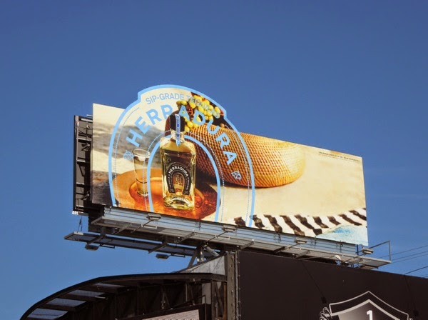 Tequila Herradura horseshoe special extension billboard