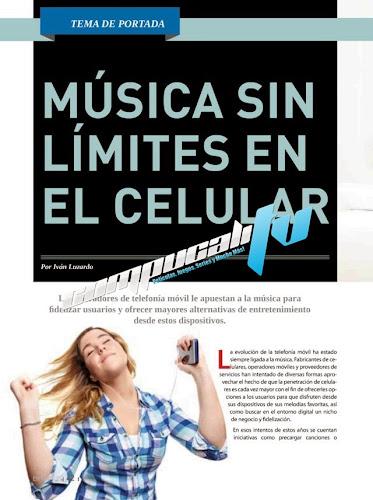Revista Música sin límites en el celular Junio 2014 Enter.co