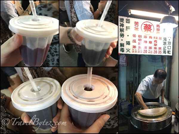 Traditional Tea at Jingmei Night Market