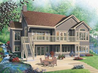 Lake-House-Plans-Multiple-Window