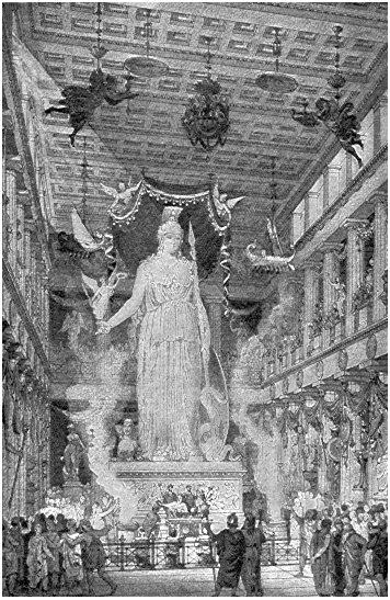 Η Αθηνά Παρθένος υπήρξε μία δημιουργία που συνδύαζε τα πολύτιμα υλικά με τα  μυθολογικά θέματα και συμπύκνωνε το ιστορικό παρελθόν και τη δύναμη της ... 9ee43fadf51