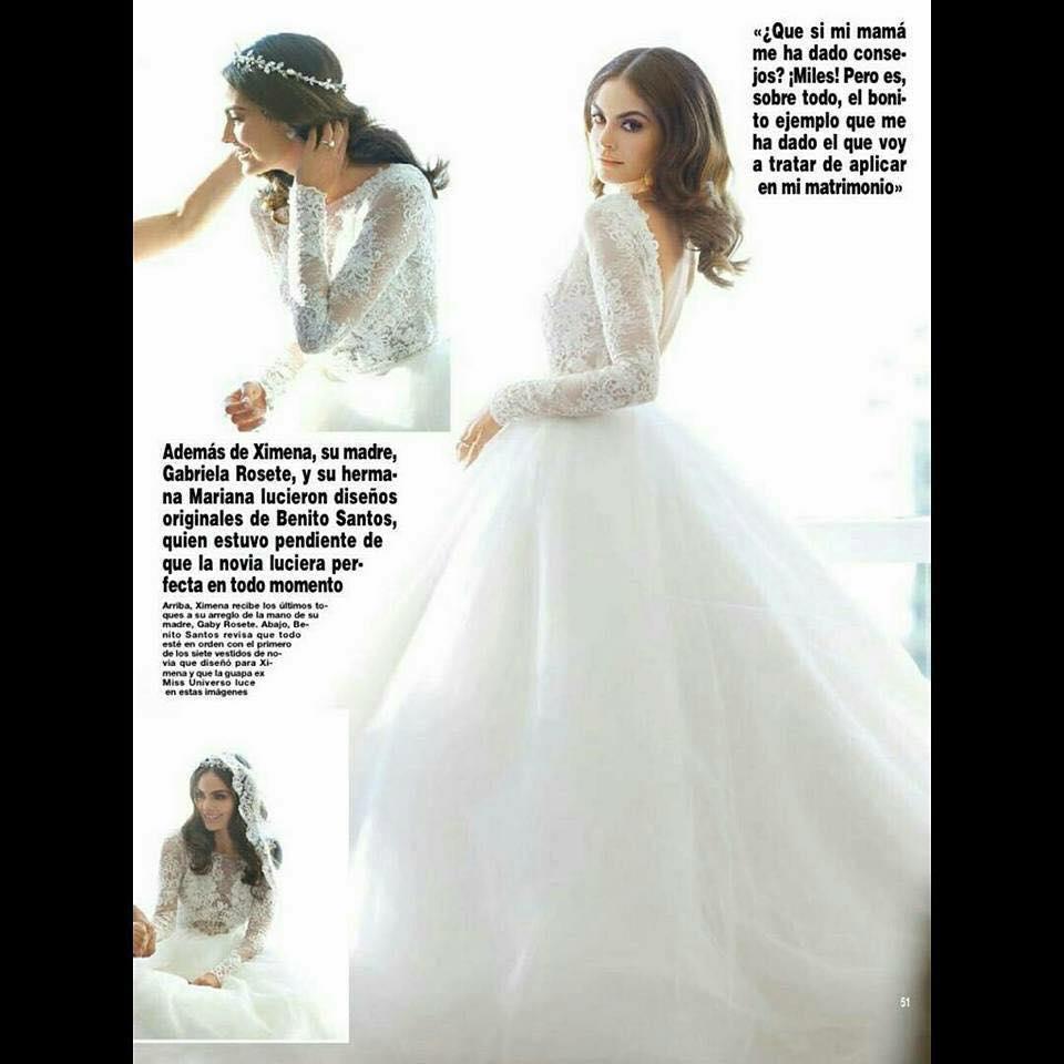 Los 4 Vestidos De Novia De Ximena Navarrete Nueva Moda