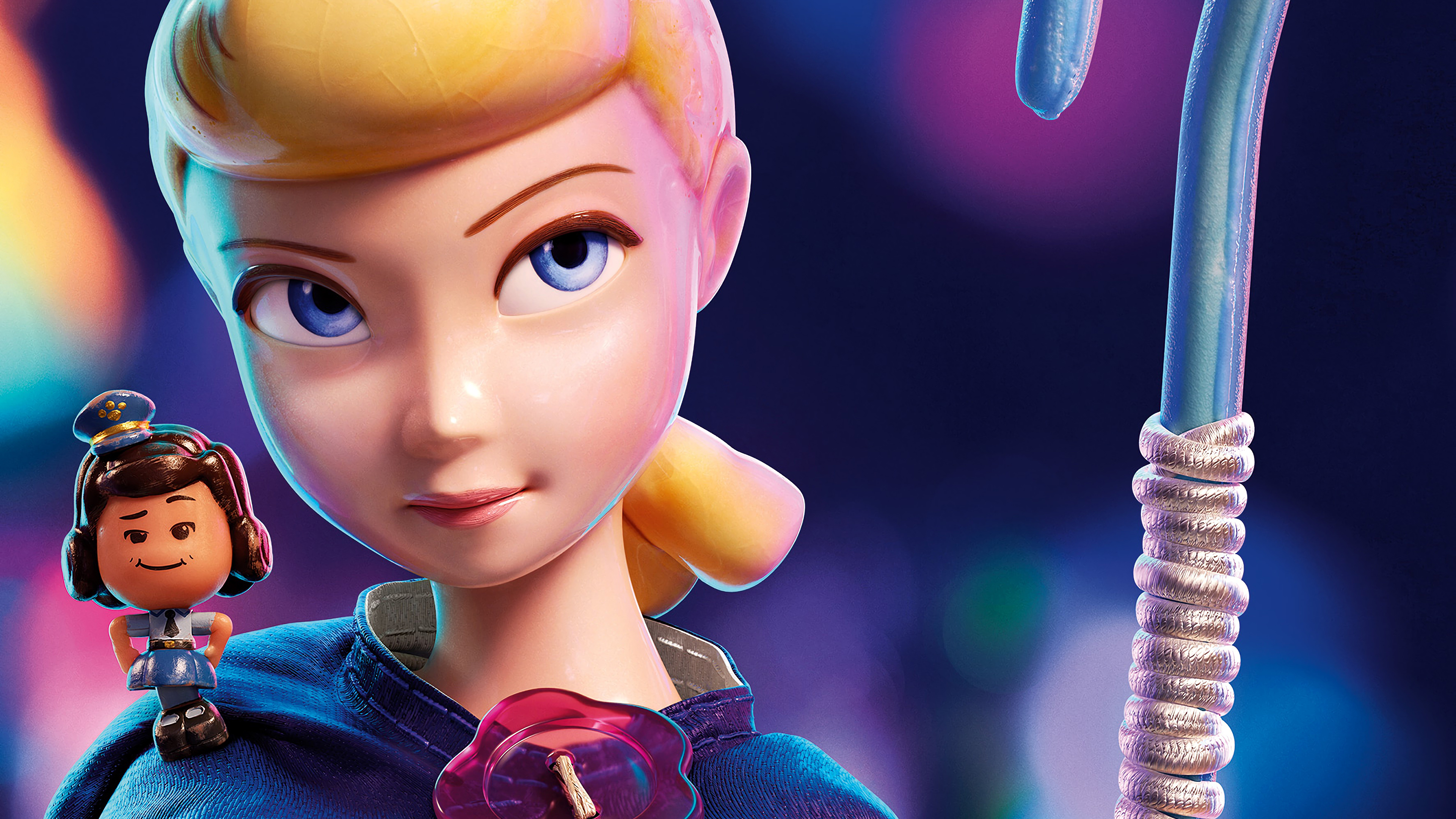 Toy Story 4 Bo Peep Officer Giggle 4k Wallpaper 5