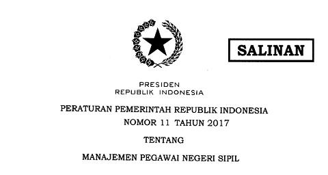 Pengaturan Jabatan Administrasi dan Jabatan Fungsional Bagi PNS Sesuai PP No 11 Tahun 2017