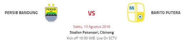 Persib Bandung Jamu Barito Putera di Stadion Pakansari Bogor