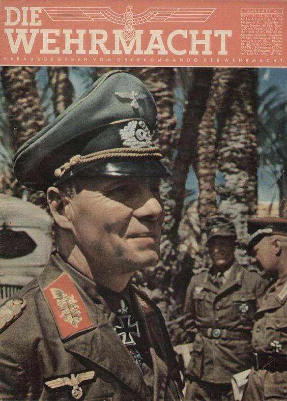 Erwin Rommel Desert Fox Die Wehrmacht magazine cover worldwartwo.filminspector.com
