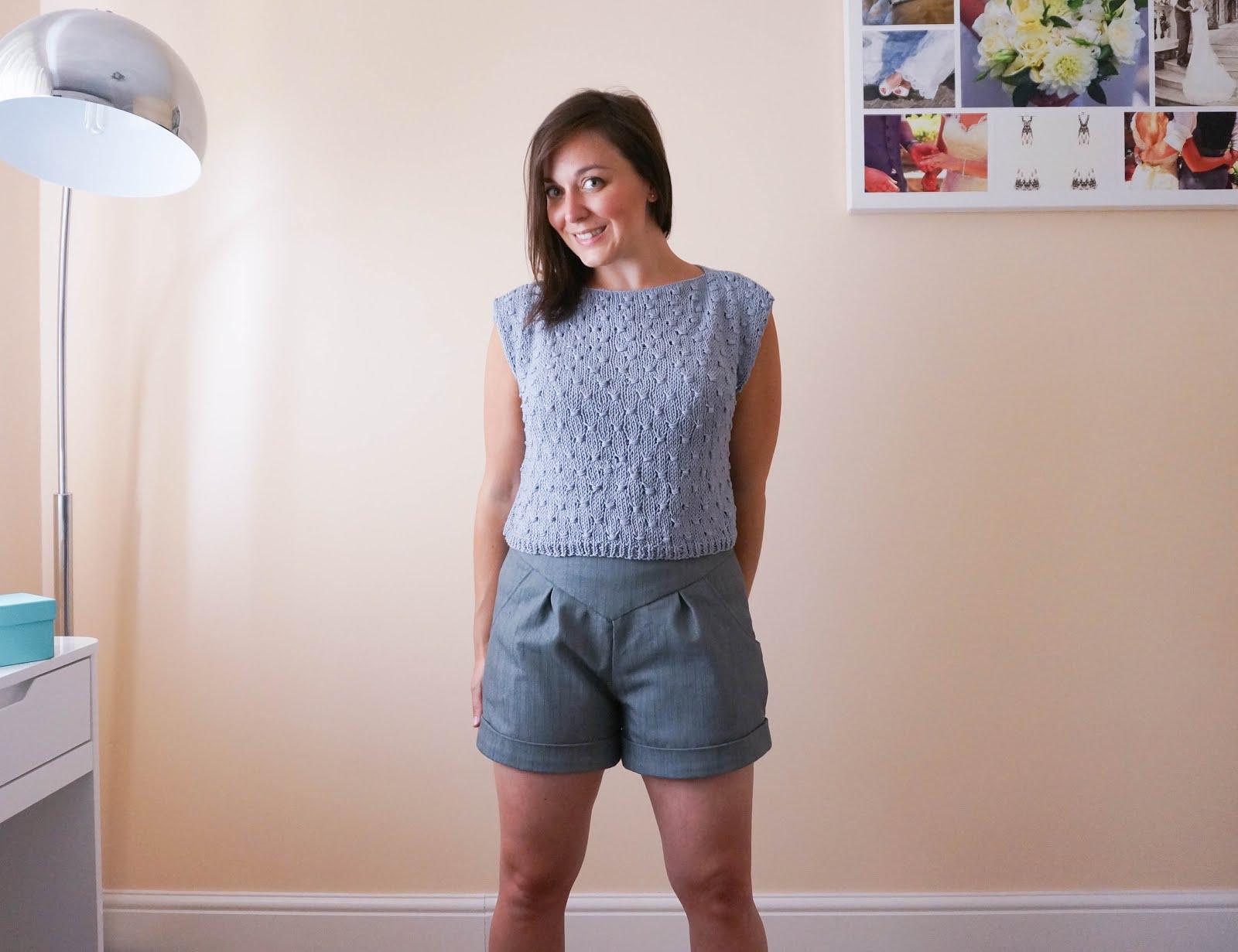 We Are Knitters kit review from a beginner knitter Lemon Tee