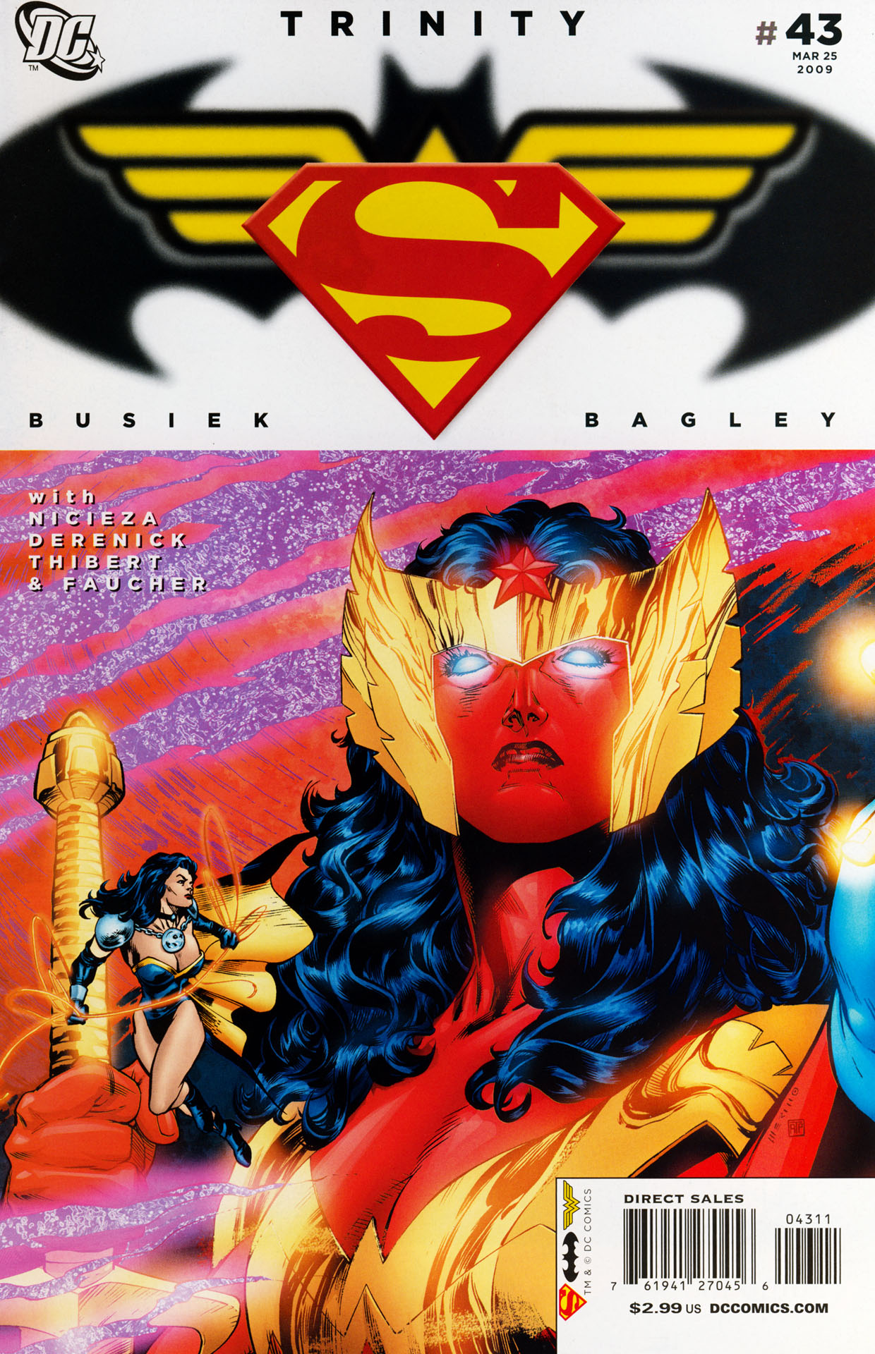 Read online Trinity (2008) comic -  Issue #43 - 1