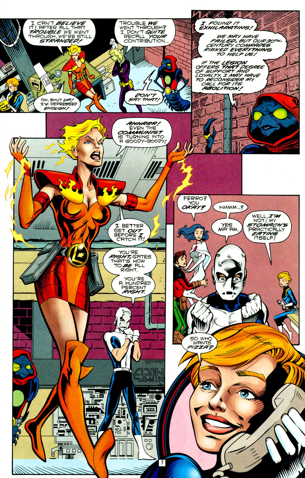 Legion of Super-Heroes (1989) 93 Page 6