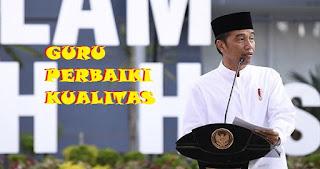 Presiden Jokowi Minta Guru Perbaiki Kualitas Keterampilan