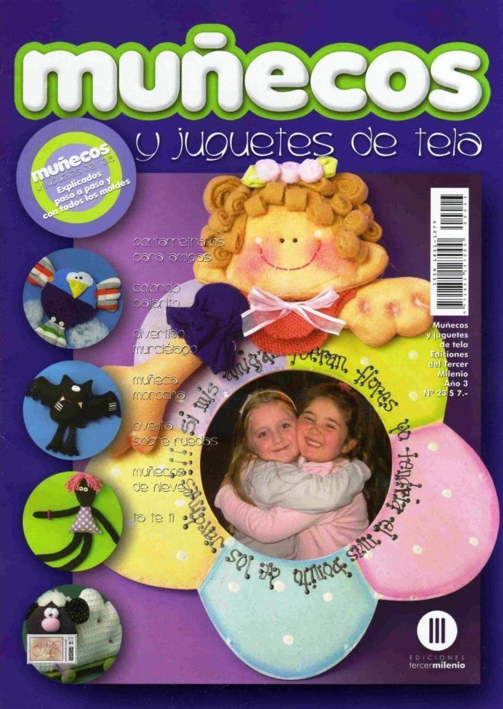 Muñecos y Juguetes de tela Nro. 23