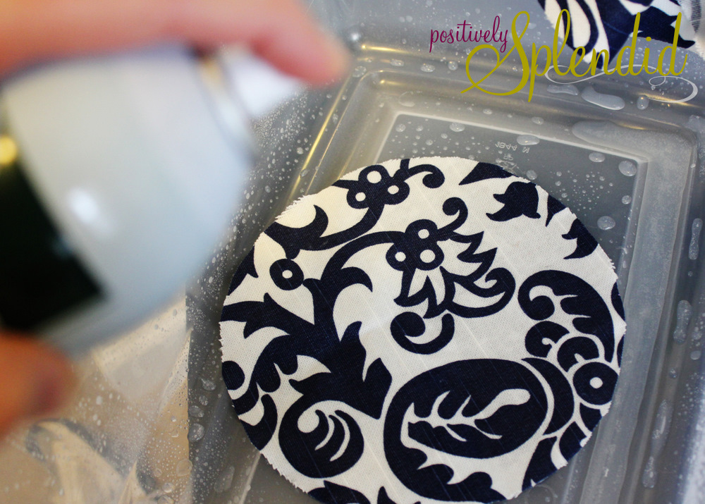 Custom Fabric Wall Decal Tutorial Positively Splendid Crafts - Custom vinyl decal application fluid recipe