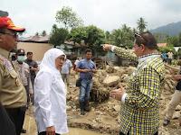 Kunjungi Banjir Magelang, Mensos Singgung Peran Pemda Soal Peta Rawan Bencana