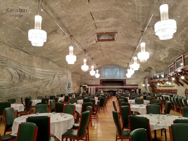 Wieliczka | kopalnia soli | sala weselna | Karabon voyage