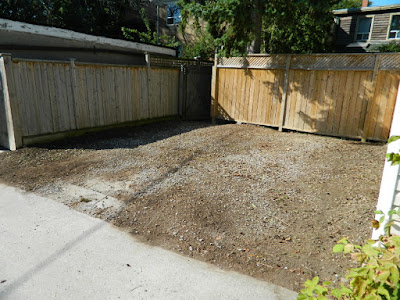 Toronto gardening services Hillcrest back yard cleanup after by Paul Jung