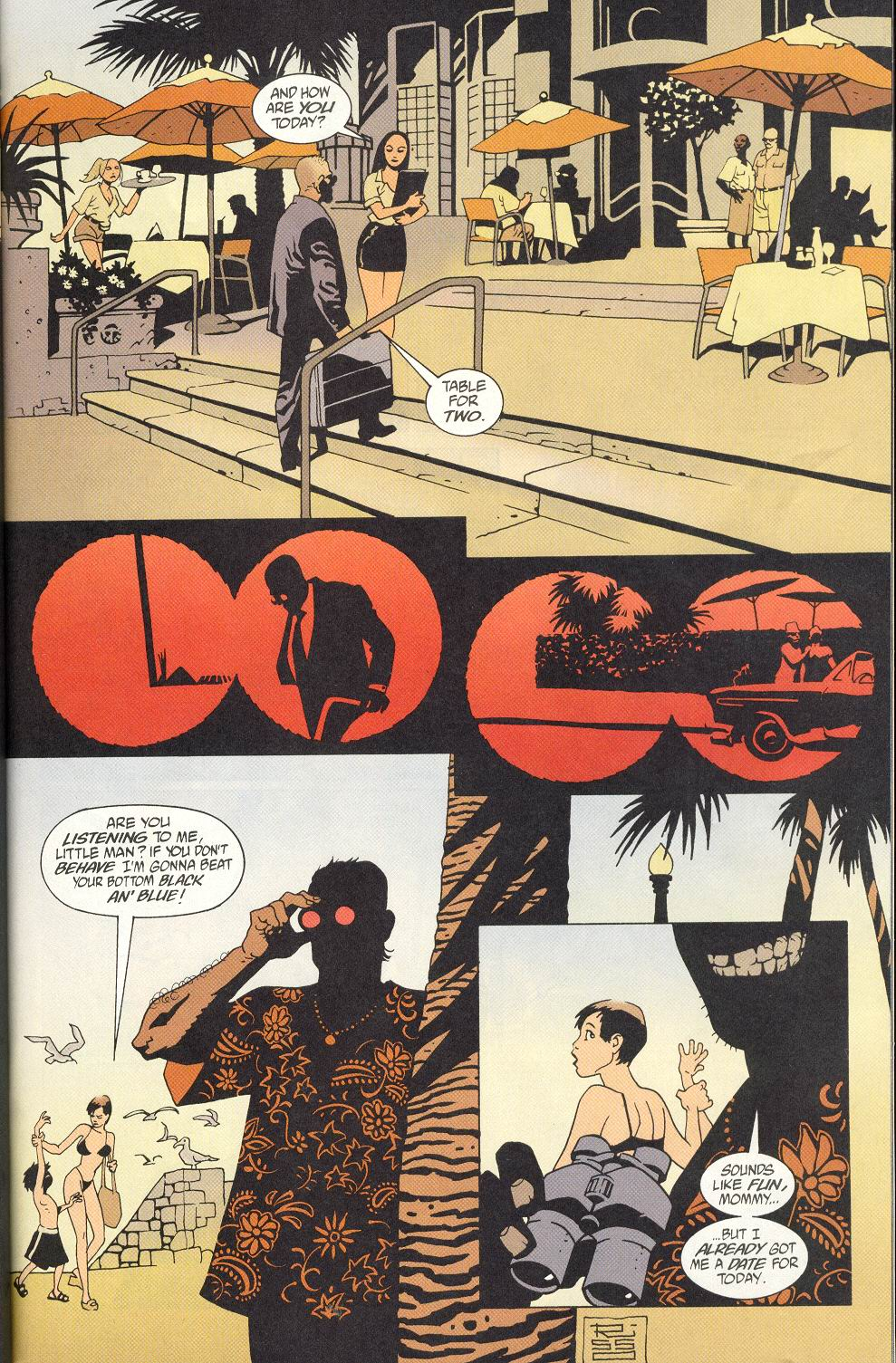 Read online 100 Bullets comic -  Issue #8 - 10