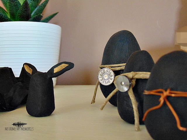 Clay-easter-eggs-with-rope