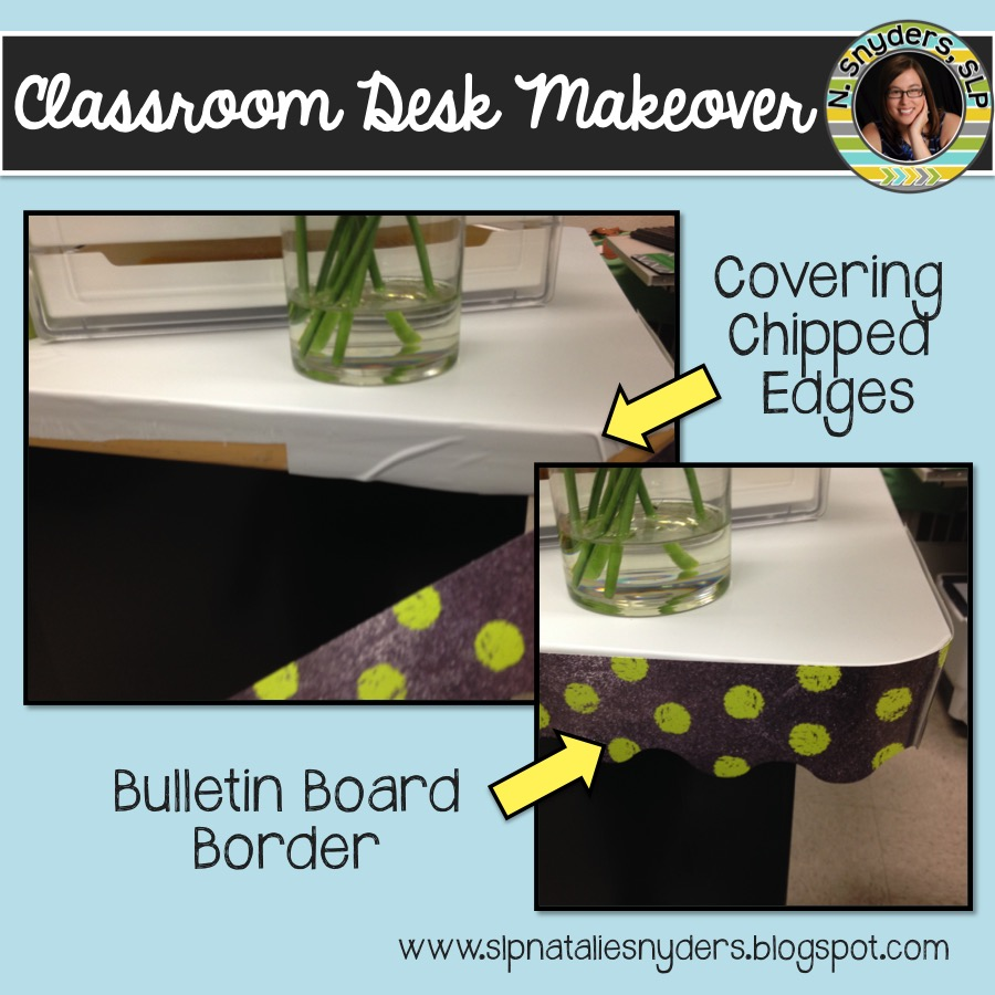 Classroom Desk Makeover
