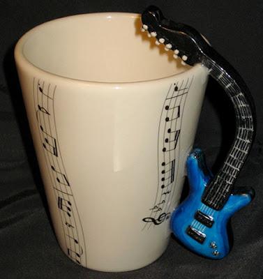 Canecas personalizadas para músico