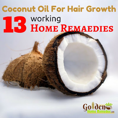 Coconut Oil For Hair Growth - Home Remedies For Hair Growth, How To Get Long Hair, How To Make Your Hair Grow Faster, Hair Growth, Fast Hair Growth, Remedies For Hair Growth, Hair Growth Treatment, Hair Growth Home Remedies,
