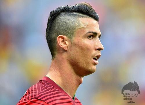 Model Gaya Rambut Cristiano Ronaldo CR7