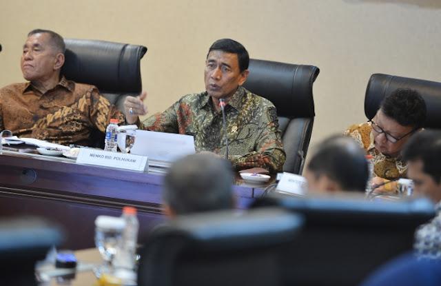 Disebut Rencanakan Kudeta, 2 Eks Petinggi TNI yang Jadi Menteri Jokowi Gelar Rapat di Banten