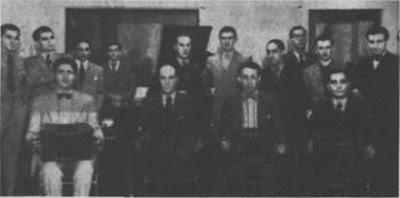 Osvaldo Pugliese cuando integraba orquesta de Eduardo Pereyra en 1936
