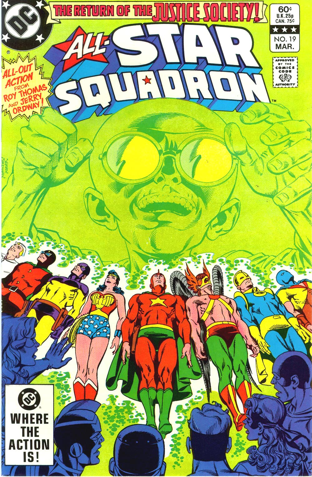 Read online All-Star Squadron comic -  Issue #19 - 1