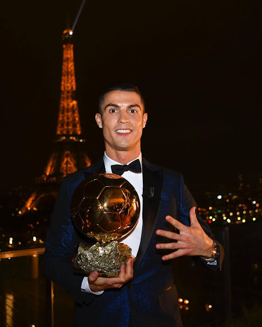 Cristiano ronaldo balon d'Or winner