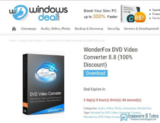WonderFox DVD Video Converter 8.8 giveaway