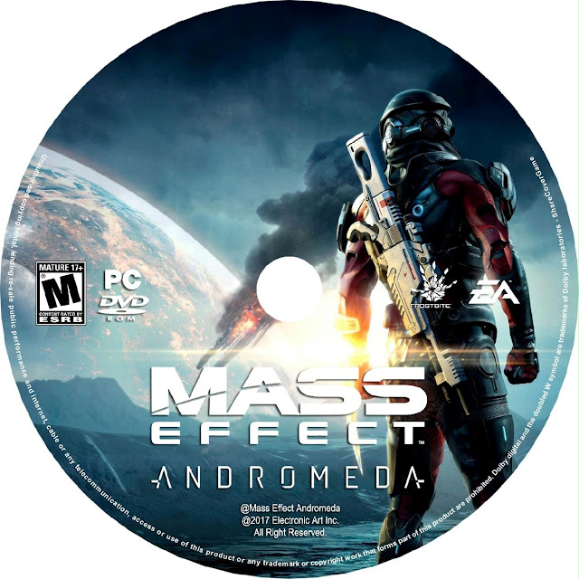 Label Mass Effect Andromeda PC