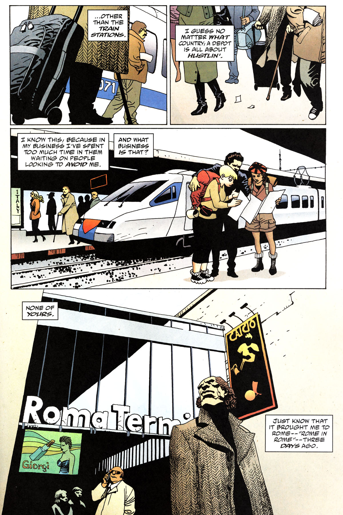Read online 100 Bullets comic -  Issue #81 - 9