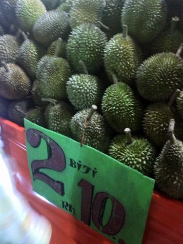 Durian Murah-murah - Bulum Jadi Lagi Durian Crepe